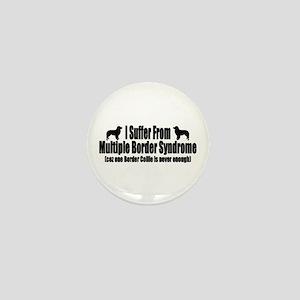 Border Collie Mini Button