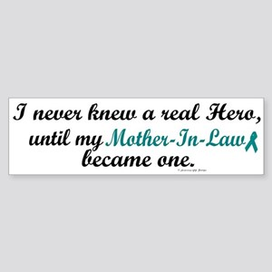 Never Knew A Hero OC (Mother-In-Law) Sticker (Bump