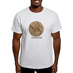 Real Bobcat Pawprint Light T-Shirt