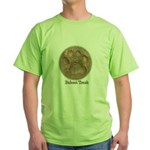 Real Bobcat Pawprint Green T-Shirt