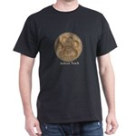Real Bobcat Pawprint Dark T-Shirt