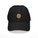 Real Bobcat Pawprint Black Cap