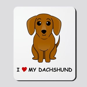 Smooth Dachshund Mousepad