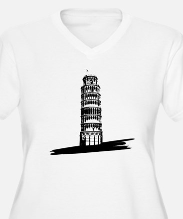 """The Tilting Earth of Pisa"" T-Shirt"