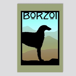 Craftsman Borzoi Postcards (Package of 8)