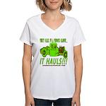 IT HAULS! Women's V-Neck T-Shirt