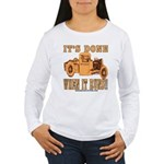 DONE WHEN IT RUNS Women's Long Sleeve T-Shirt
