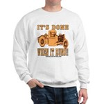 DONE WHEN IT RUNS Sweatshirt