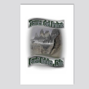 Torres del Paine Postcards (Package of 8)