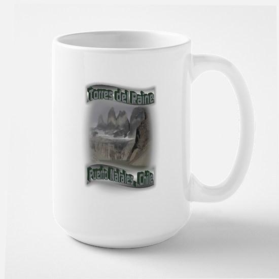 Torres del Paine Large Mug