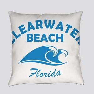 Florida - Clearwater Beach Everyday Pillow