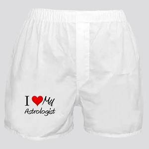 I Heart My Astrologist Boxer Shorts
