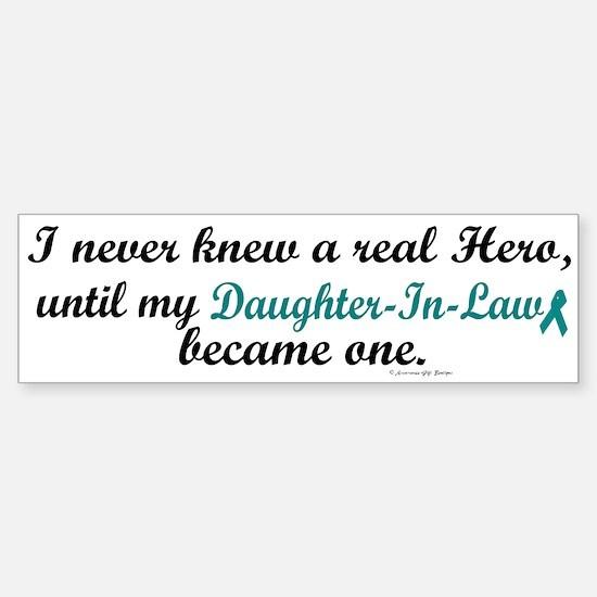 Never Knew A Hero OC (Daughter-In-Law) Bumper Bumper Sticker