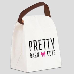 Pretty Darn Cute Canvas Lunch Bag