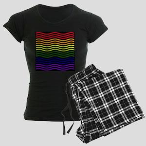 Curvilinear rainbow Pajamas