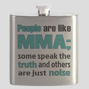 People are like MMA Flask