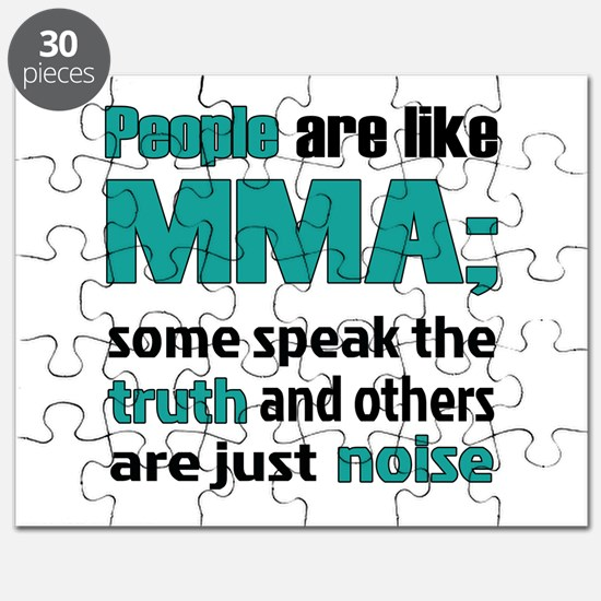 People are like MMA Puzzle