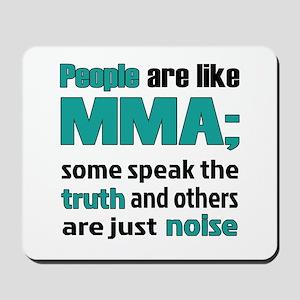 People are like MMA Mousepad