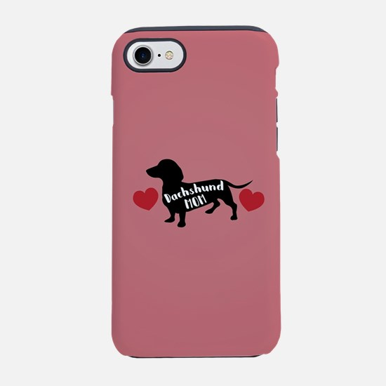 Dachshund Mom iPhone 8/7 Tough Case