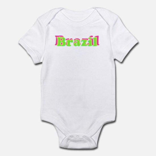 Brazil Green Infant Bodysuit