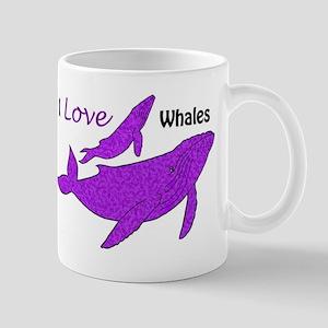Humpback Whale Mama & Baby Mugs