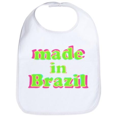 Made in Brazil Bib