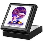 Sagittarius Keepsake Box