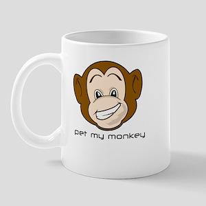Pet My Monkey Mug