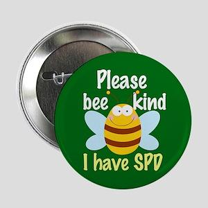 "I Have SPD Sensory Processing 2.25"" Button"