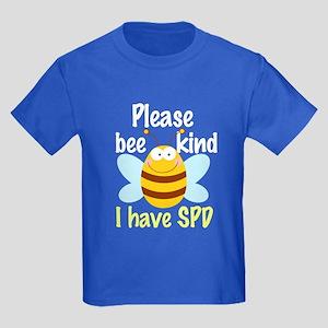 I Have SPD Sensory Processing Kids Dark T-Shirt