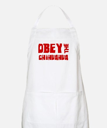 Obey the Chihuahua BBQ Apron
