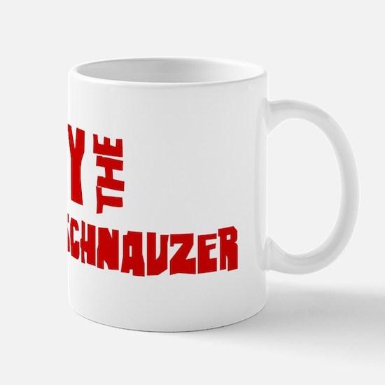Obey the Miniature Schnauzer Mug