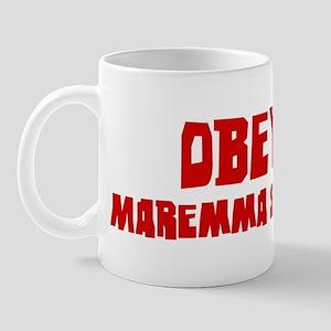 Obey the Maremma Sheepdog Mug