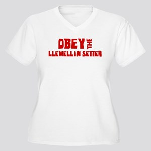 Obey the Llewellin Setter Women's Plus Size V-Neck