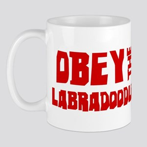 Obey the Labradoodle Mug