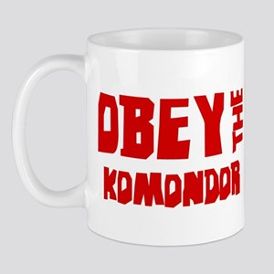 Obey the Komondor Mug