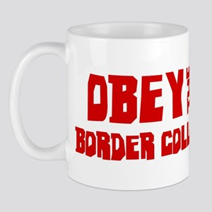 Obey the Border Collie Mug