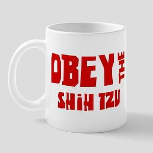 Obey the Shih Tzu Mug