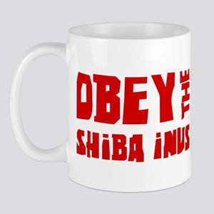 Obey the Shiba Inus Mug