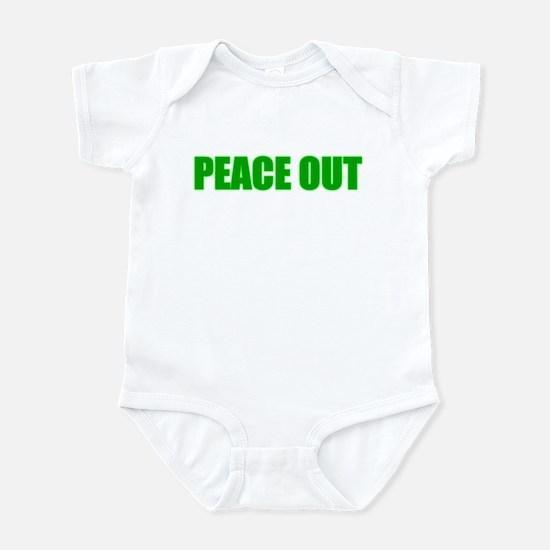 PEACE OUT Infant Bodysuit