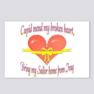 Broken Heart Sailor Postcards (Package of 8)