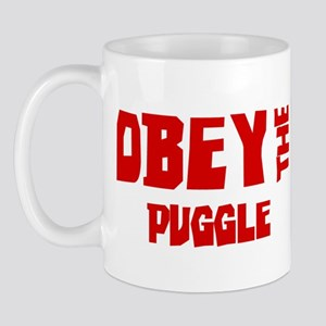 Obey the Puggle Mug