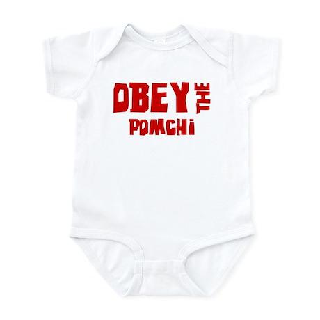 Obey the Pomchi Infant Bodysuit