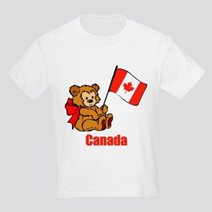 Canada Teddy Bear Kids Light T-Shirt