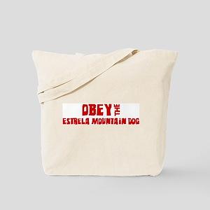 Obey the Estrela Mountain Dog Tote Bag