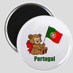 "Portugal Teddy Bear 2.25"" Magnet (10 pack)"