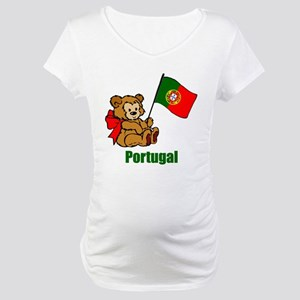 Portugal Teddy Bear Maternity T-Shirt