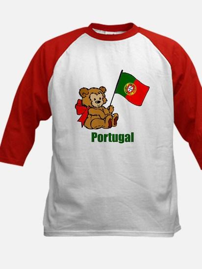 Portugal Teddy Bear Kids Baseball Jersey