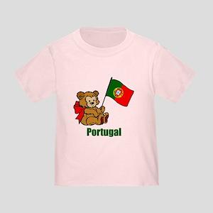 Portugal Teddy Bear Toddler T-Shirt