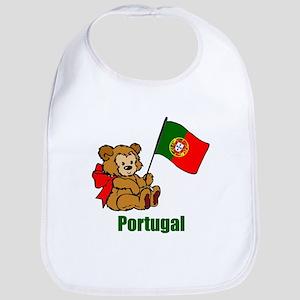 Portugal Teddy Bear Bib